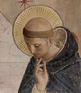 Dominicus, geschilderd door de 15e eeuwse fra Angelico.